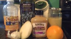 Sweet Citrus & Onion Dressing    I L-O-V-E a great salad dressing! My husband is a bit more of a single favorite type of guy but me...I lov...