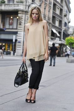 Sheer Neutral + All Black - Click for More...