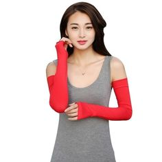 Men's Arm Warmers High Quality Men Women Useful Arm Warmer Cotton Long Fingerless Gloves Cuff Sun Hand Protection Anti-uv Simple Design Men's Accessories
