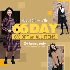 wear confidence at 66girls.us! All items are now 6% off