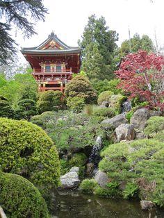 Japanese Temple Landscape