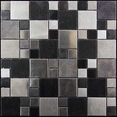 Sold by: sheet Sheet Size: x Material: Metal Color: Gray Finish: Polished Packing info: Pcs per Box: 5 Sq. per Box: Weight Sheet or Sq. Ft: lb Area of use: Wall: Indoor Floor: No Shower Wall: Yes Shower Floor: No Steam room: No Pool: No Ceramic Subway Tile, Glass Subway Tile, Glass Mosaic Tiles, Wood Texture Seamless, Tiles Texture, Patchwork Tiles, Black Backsplash, Tile Stores, Black Tiles