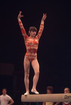 Nadia on BB, post Montreal 1976 Olympics. Gymnastics History, Gymnastics Images, Sport Gymnastics, Olympic Gymnastics, Gymnastics Problems, 1976 Olympics, Summer Olympics, Nadia Comaneci Perfect 10, Olympic Games Sports