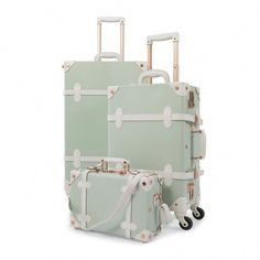 Luggage Sets Cute, Carry On Luggage, Travel Luggage, Travel Bags, Luxury Luggage, Travel Stuff, Vintage Suitcases, Vintage Luggage, Air France