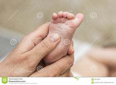 Mom Checks Reflex Child Moving Her Fingers On Foot - Download From Over 58 Million High Quality Stock Photos, Images, Vectors. Sign up for FREE today. Image: 59073328