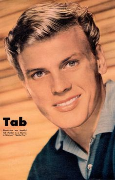 The Hollywood Reporter, Hollywood Star, Vintage Hollywood, Hollywood Magazine, Hunter Movie, Tab Hunter, Most Handsome Actors, The Boy Next Door, Anthony Perkins