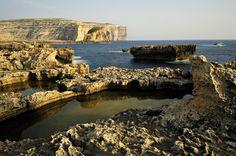 Paysage sauvage de l'île de #Gozo #Malte #Malta