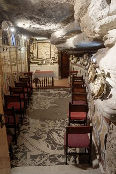 Cova de Sant Ignasi. Manresa (El Bages), Catalonia