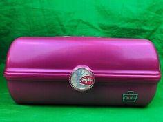 Caboodles Pink Cosmetic Organizer Mirror Train Case Kiss Lips | eBay Cosmetic Train Case, Makeup Train Case, Travel Cosmetic Bags, Makeup Caboodle, Makeup Storage Bag, Large Makeup Bag, All Natural Makeup, Makeup Training