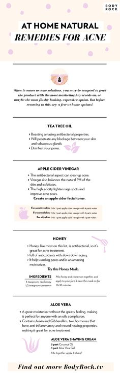 Check out these at home natural acne and skin remedies! (Best Skin Remedies)