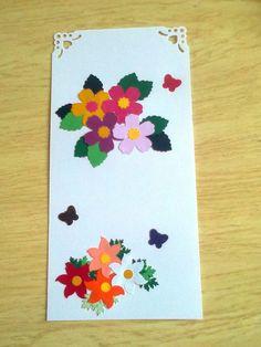Tag com flores