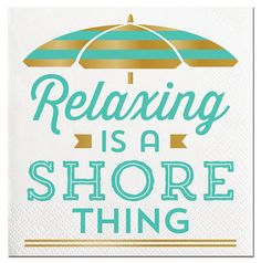 Shore Thing Cocktail Napkins