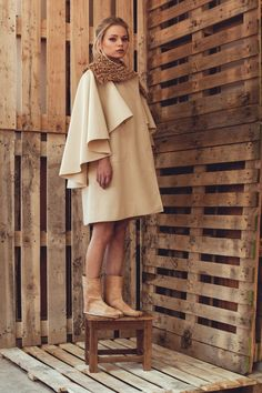 Vestidos High Low, Ideias Fashion, High Neck Dress, Portugal, Dresses, Knitting, Products, Dressing Rooms, Turtleneck Dress