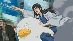 Gintama. Katsura & Elizabeth