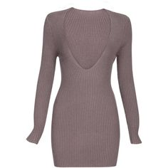 V-neck Long Sleeves Plunge Knitwear Uk Fashion Brands, Brown Long Sleeve Tops, Long Sleeve Bodysuit, Cute Casual Outfits, Knitwear, Skinny Jeans, V Neck, Sleeves, Sweaters