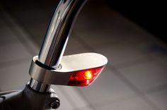 Sparse aluminum LED bicycle lighting