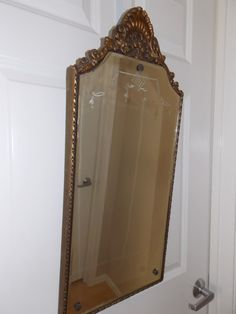 Beveled Mirror Vintage Classic Style