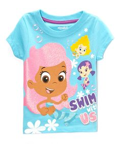 This Blue 'Swim With Us' Bubble Guppies Tee - Toddler by Bubble Guppies is perfect! #zulilyfinds