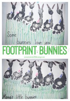 Here is a fun craft to make with your kids this Easter. Bunny Crafts, Easter Crafts, Crafts To Make, Crafts For Kids, Diy Crafts, Some Bunny Loves You, Sharpie Markers, Baby Chicks, Craft Materials