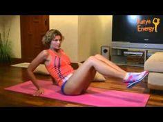 Упражнение на верхний пресс с Катей Energy (видео)