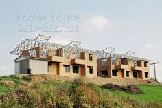 horsea specialized in the light steel buildingsChina Steel Consruction Steel House, Steel Buildings, Prefab, Villa, House Design, Mansions, Lighting, House Styles, Frame