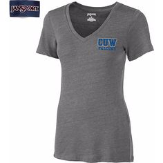 Jansport Concordia University Wisconsin Women's V-Neck T-Shirt CLEARANCE $18.99