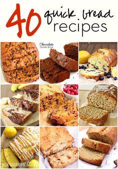 40 Quick Bread Recipes