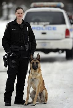 chicago k9 and his officer-Thank you