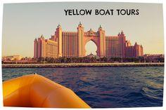 Yellow Boat Tours Dubai #Dubai #Boats