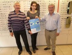 The Lions Club of Figeac (France) participate for the second consecutive World Sight Da