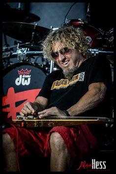 """That means the Del Mar concert season is in full swing. For me, that started with the """"Red Rocker"""" Sammy Hagar Van Halen 2, Van Hagar, Red Rocker, Sammy Hagar, Best Rock, Rock Stars, Cabo, I Love Him, Hard Rock"""