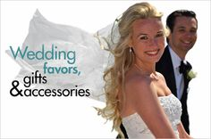 www.GottaHaveThat... has affordable wedding accessories, wedding favors, bridesmaid gifts, groomsmen gifts and much more!