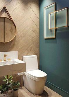 Modern Bathroom Design, Bathroom Interior Design, Bathroom Designs, Toilet And Bathroom Design, Toilet Tiles, Toilet Art, Wc Design, Design Ideas, Clever Design