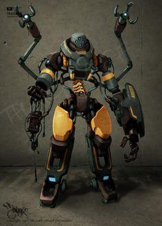 Robot Research by ~thaigraff on deviantART