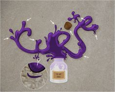 Create a Jar Illustration and Splashy, Purple Text Effect - Tuts+ Design & Illustration Tutorial