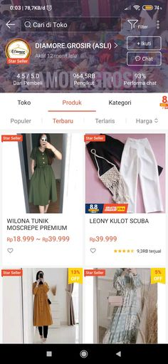 Shopping Websites, Shopping Hacks, Online Shopping Clothes, Casual Hijab Outfit, Casual Outfits, Beanie Boos, Online Shop Baju, Best Online Clothing Stores, Hijab Fashion