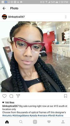 Find Deals For Women's Fashion Glasses Online Cute Glasses, Girls With Glasses, Glasses Frames, Fashion Eye Glasses, Cat Eye Glasses, Red Sunglasses, Glasses Online, Eyeglasses, Eye Frames