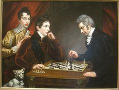 Chess Players by James Northcote (1746-1831) - IMG 7288.JPG
