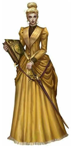 Female Human Hastur following Aristocrat - Pathfinder PFRPG DND D&D d20 fantasy