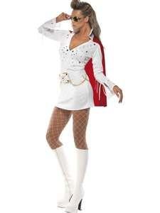 d0a1fe0b52a Wit Viva Las Vegas Elvis kostuum voor vrouwen  online kopen in Funidelia