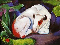 El Steer (El Toro), 1911 - Franz Marc