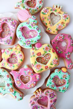 peranakan design cookies