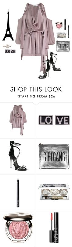 """Dream Big"" by picassogirl ❤ liked on Polyvore featuring Zimmermann, Givenchy, Giuseppe Zanotti, Sarah Baily, NARS Cosmetics, Chantecaille and Monique Péan"