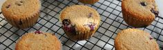 Quick and Healthy Blueberry Oat Bran Muffins