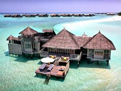 """Located on Lankanfushi Island, North Male Atoll, Maldives is the now titled """"Gili Lankanfushi"""" resort. Formerly known as """"Six Senses"""" this amazing getaway location features overwater villas and a private reserve– not to mention the underground wine cave of the premises."""