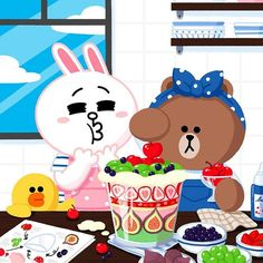 Choco and cony