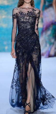 Monique Lhuillier NYFW Spring 2013 rtw - would love to see this dress in beige