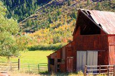 ~ Old Red Barn ~ Kamas, Utah....   ..rh