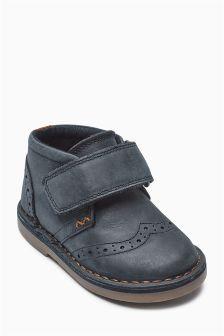 Brogue Desert Boots (Younger Boys)