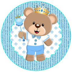 Ideas Baby Boy Scrapbook Tags For 2019 Baby Boy Scrapbook, Baby Shawer, 3rd Baby, Moldes Para Baby Shower, Teddy Bear Birthday, Sprinkle Shower, Baby Shower Invitaciones, Bear Decor, Bear Party